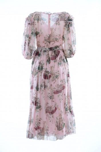 Dolce & Gabbana Women Silk Dress - F66A4T HS1N0