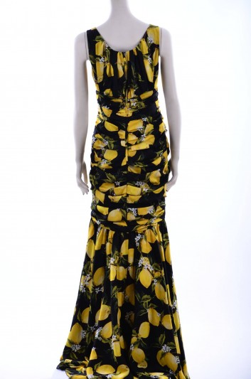 Dolce & Gabbana Women Lemons Long Dress - F6VN0T FSAOL