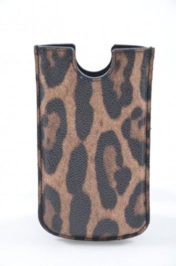 Dolce & Gabbana Funda Iphone 5/5S Estampado Leopardo Mujer - BI0538 A4015