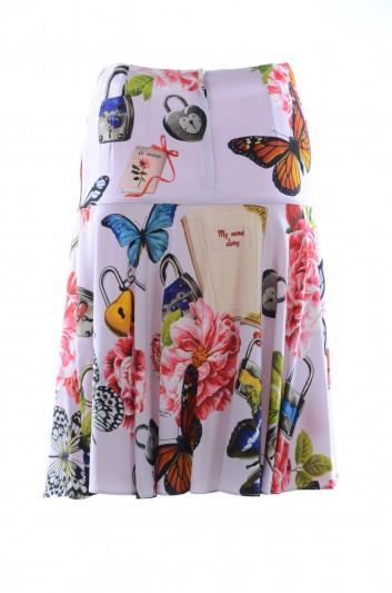 Dolce & Gabbana Women Butterflies Skirt - F4A8LT FSAUD