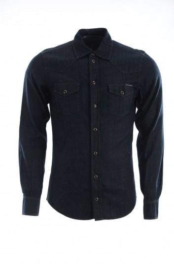 Dolce & Gabbana Men Denim Shirt Long Sleeve - G5DW9D G8T47