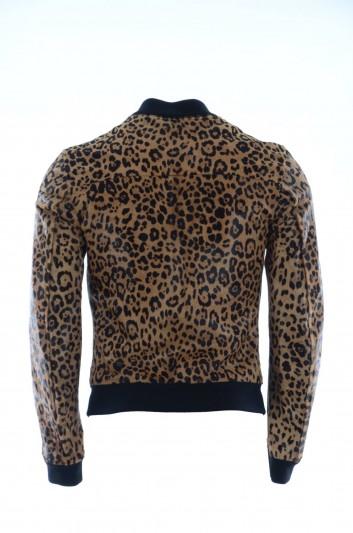 Dolce & Gabbana Chaqueta Piel Hombre - G9FA0L FUL4Z