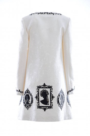 Dolce & Gabbana Abrigo Bordado Mujer - F0O04Z FJMRJ