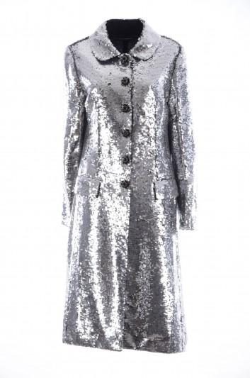 Dolce & Gabbana Abrigo Lentejuelas Mujer - F0T72Z HLMQN