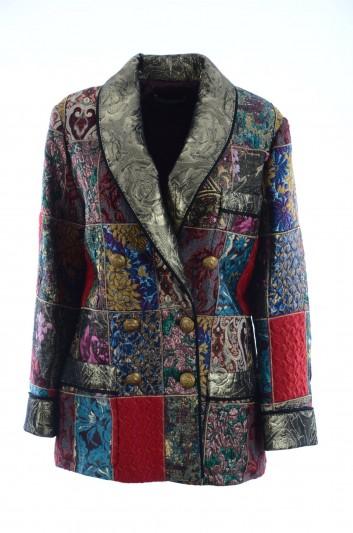 Dolce & Gabbana Abrigo Mosaico Mujer - F0T55T GDG95