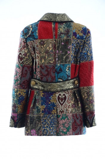Dolce & Gabbana Women Patchwork Coat - F0T55T GDG95