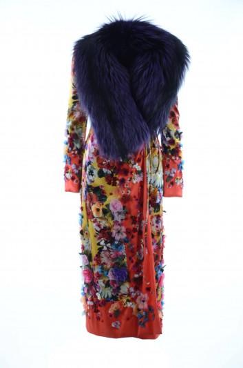 Dolce & Gabbana Abrigo Seda Mujer - F0W18Z GD84T