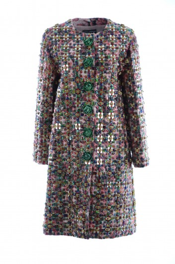 Dolce & Gabbana Women Jewel Coat - F0U24Z GD96R