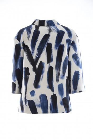 Dolce & Gabbana Chaqueta Estampada Pinceladas Mujer - F28I2T HS1DW