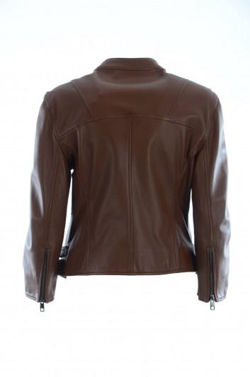 Dolce & Gabbana Women Leather Jacket - F9782L FUL6K