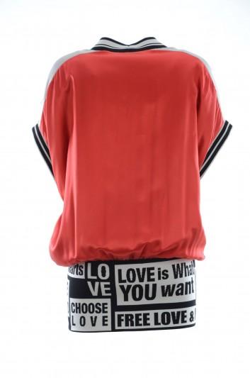 Dolce & Gabbana Women Sporty Silk Jacket - F9C14T FU1AU