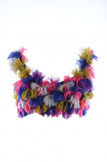 Dolce & Gabbana Women Furry Top - I7E56W FJMWZ