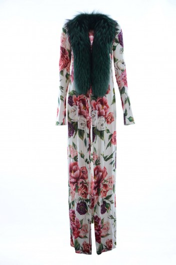 Dolce & Gabbana Women Silk Floral Coat - F0U62T GDJ21