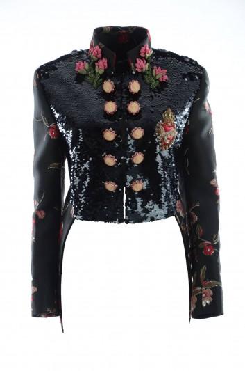 Dolce & Gabbana Women Frac Sequins Jacket - F28X8Z FLMII