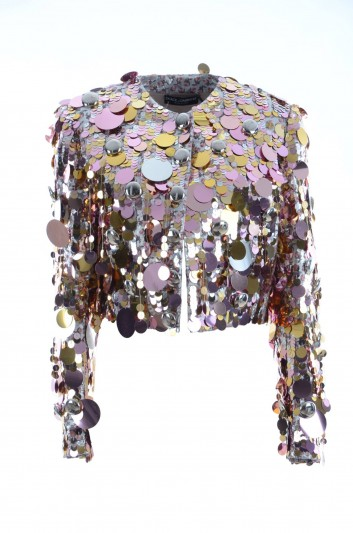 Dolce & Gabbana Women Sequin Jacket - F28EMZ GD07R