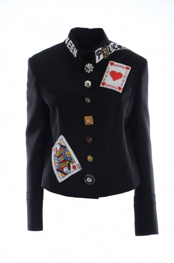 Dolce & Gabbana Women Queen of Hearts Jacket - F28EIZ FU3LD