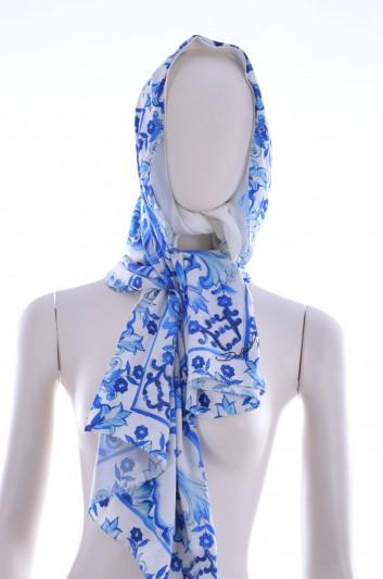 Dolce & Gabbana Women Maiolica Printed Hiyab - FN062R FPAIT