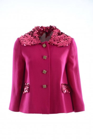 Dolce & Gabbana Women Sequins Jacket - F28JBZ FU2TZ