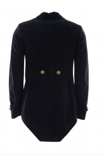 Dolce & Gabbana Men Fur Blazer - G2MK9L FULWF