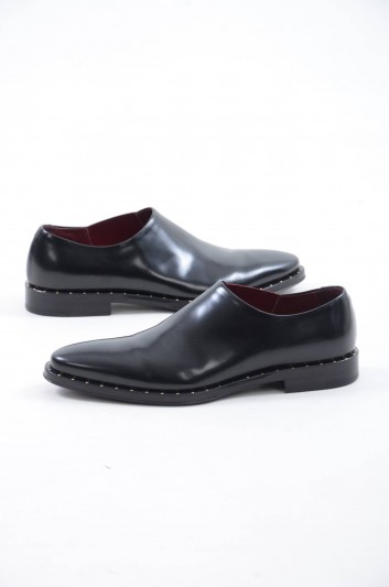Dolce & Gabbana Men Leather Loafers - A50303 AA384