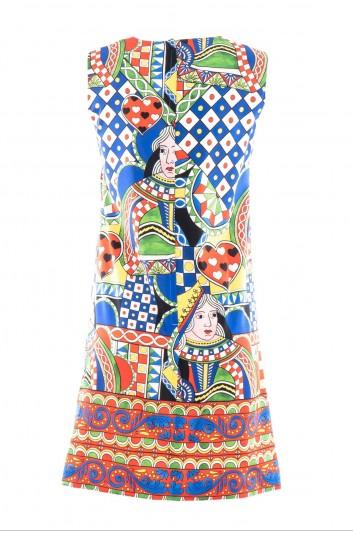 Dolce & Gabbana Vestido Corto Seda Mujer - F65E6T FSAUG