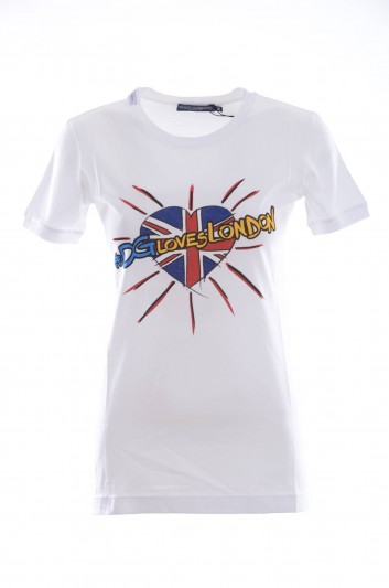 Dolce & Gabbana Camiseta Manga Corta Mujer - I8317W G7OCZ