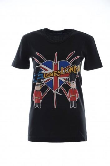 Dolce & Gabbana Camiseta Manga Corta Mujer - I8318W G7OCG