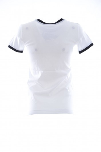 Dolce & Gabbana Camiseta Cerdita Manga Corta Mujer - F8H32T HH7JA