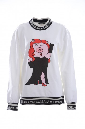 Dolce & Gabbana Women Little Pig Sweatshirt - F9E03T G7RWG