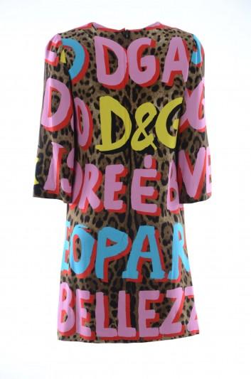 Dolce & Gabbana Vestido Manga Larga Mujer - F6UI9T FSRKU