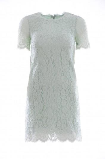 Dolce & Gabbana Vestido Encaje Mujer - F65V1T FLMY1