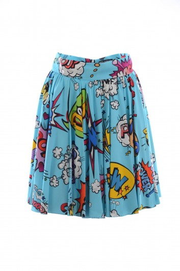 Dolce & Gabbana Women Printed Mini Skirt - F4BKGT FSRKD
