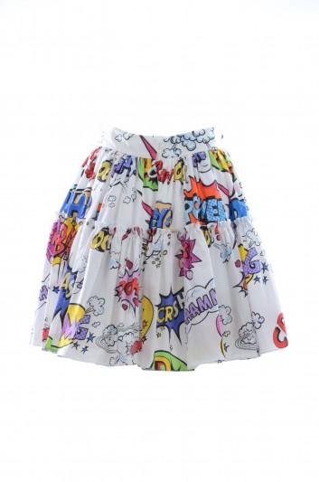 Dolce & Gabbana Women Printed Mini Skirt - F4BIXT HS5CU