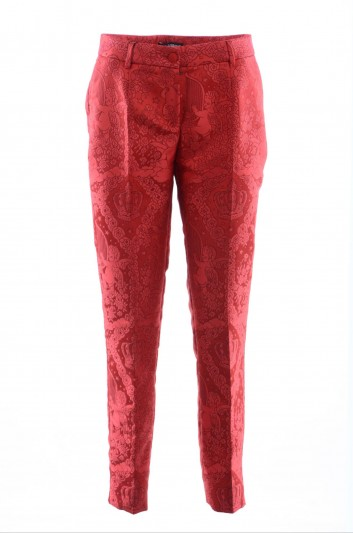 Dolce & Gabbana Women Embroidered Trousers - FTATOT FJM87