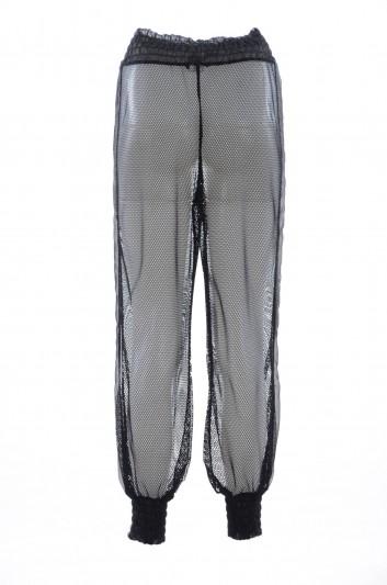 Dolce & Gabbana Pantalón Sport Transparente Mujer - FTA4LT FLMJ4