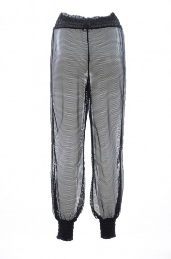 Dolce & Gabbana Women See-Through Sport Trousers - FTA4LT FLMJ4