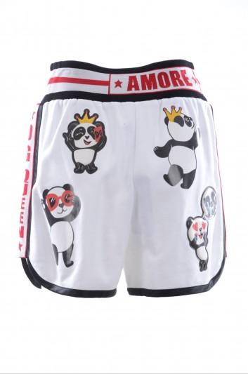 Dolce & Gabbana Women Pandas Short Sport Trousers - FTBD0Z G7RLZ