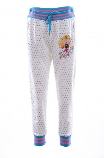 Dolce & Gabbana Women Jewel Applications Sport Trousers - FTBCQT FU7DU