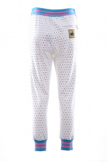 Dolce & Gabbana Pantalón Sport Aplicaciones Joya Mujer - FTBCQT FU7DU
