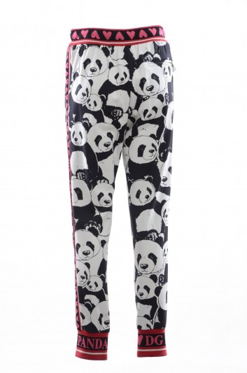 Dolce & Gabbana Women Pandas Sport Trousers - FTA7RT FS75P