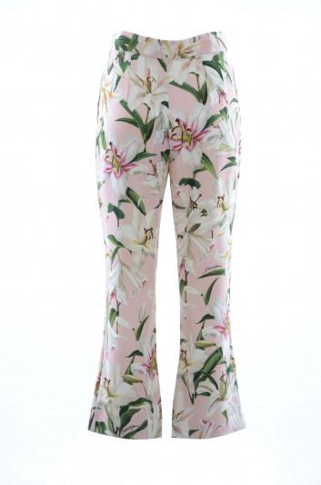 Dolce & Gabbana Women Flowered Trousers - FTBKST FSRLJ