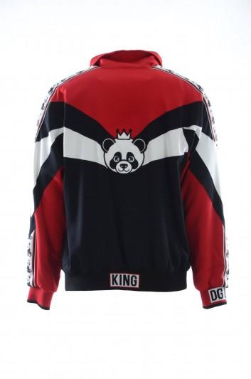 Dolce & Gabbana Men Panda Zipped Sweatshirt - G9MV8Z G7QWC