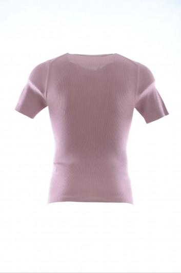 Dolce & Gabbana Men Silk Short Sleeves T-Shirt - GN532K F63A6