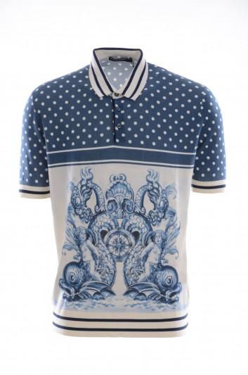 Dolce & Gabbana Men Short Sleeves Polo Shirt - GR406K F86A9