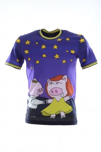 Dolce & Gabbana Camiseta Manga Corta Hombre - G8IR4T HH7E6