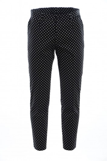 Dolce & Gabban Men Dotted Trousers - GY6FET FSFCG