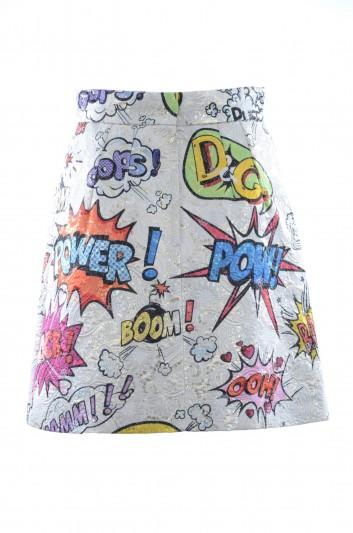 Dolce & Gabbana Women Embroidered Mini Skirt - F4AZNT HSMUZ