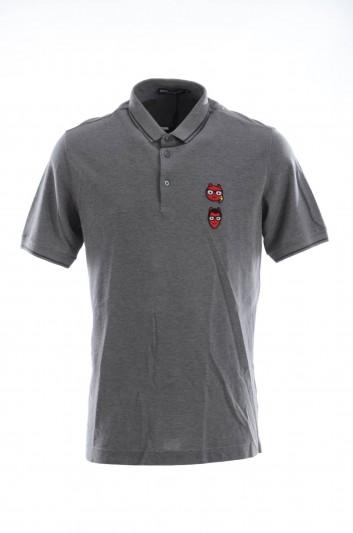 Dolce & Gabbana Men Short Sleeves Polo Shirt - G8HJ0Z G7LTS