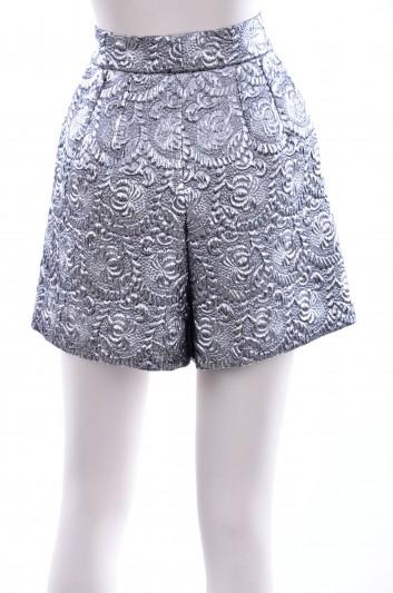 Dolce & Gabbana Women Brocade Short - FTARFT FJMZ3