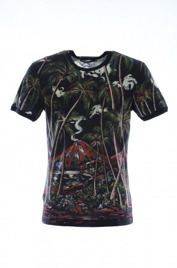 Dolce & Gabbana Men Printed Short Sleeves T-shirt - G8JX7T G7VPG
